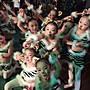 萬聖節服裝正韓版萬圣節兒童幼兒扮演貓男女童舞蹈小貓咪表演出服裝花貓咪咪動物服9-6