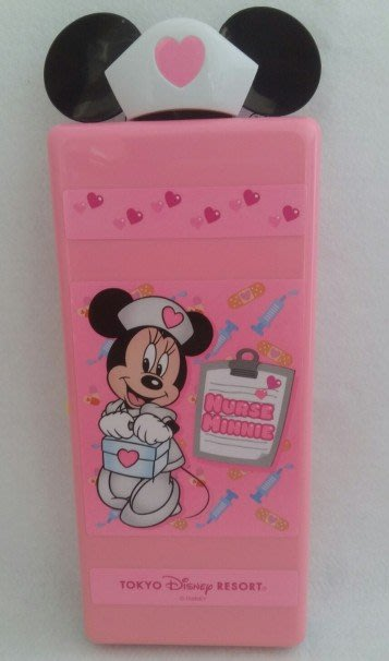 ☆╮Darling Baby ☆ 日本東京迪士尼disney米妮小護士看診PDA玩具 粉