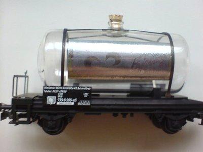 HO 44520 MARKLIN 限量紀念玻璃酒桶車(馬克林系統)