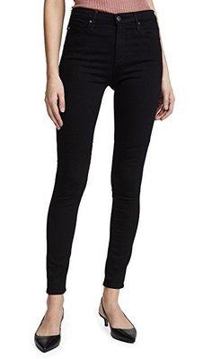 ◎美國代買◎AG Superior Stretch Farrah High Rise高腰包覆顯廋合身黑色牛仔褲