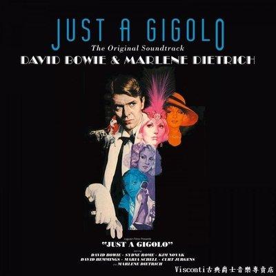 ©【Music On Vinyl】Just A Gigolo刺殺舞男-電影原聲帶(限量彩膠唱片)