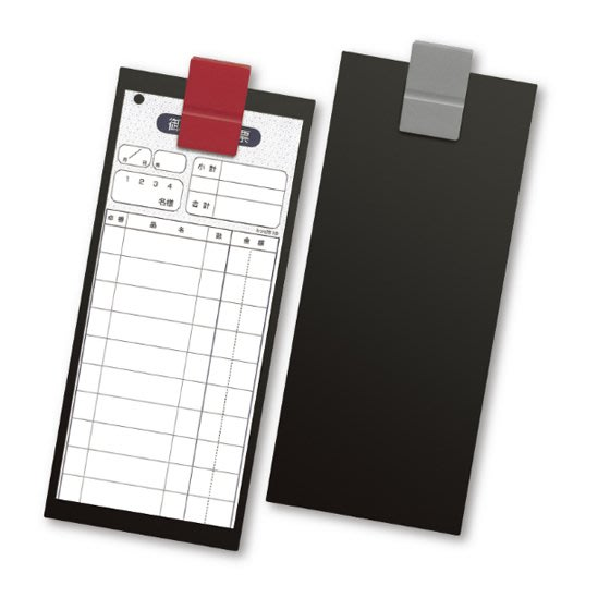【無敵餐具】日本製時尚輕巧帳夾-L(W100xH230mm)品質優良餐廳專用/帳單夾/菜單夾量多可來電【E0072】