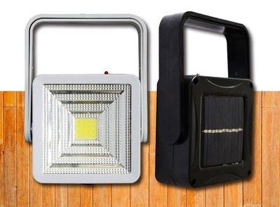 戶外家用 太陽能充電露營燈  庭院景觀 新款LED光控緊急照明燈 工作燈 USB手提式露營燈 戶外探照燈