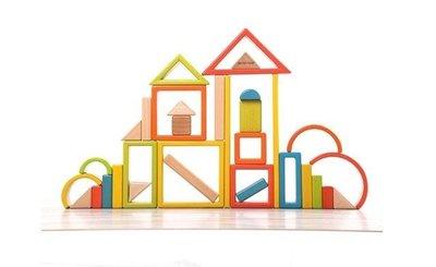 【晴晴百寶盒】木製 彩虹積木 蒙氏益智五彩拱橋 親子早教 益智遊戲玩具 安全平價促銷 禮物禮品 CP值高 P124
