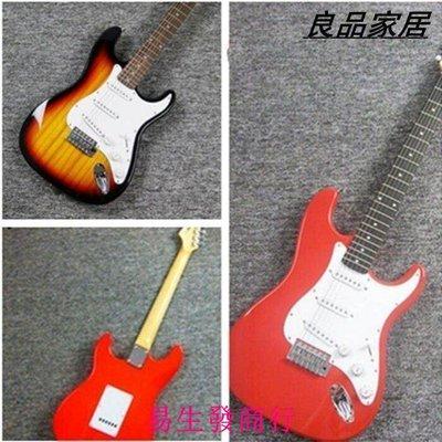 【易生發商行】時尚懷念家駒 BEYOND紀念款經典ST電吉他 特價出售 0利潤 外貿電F6308