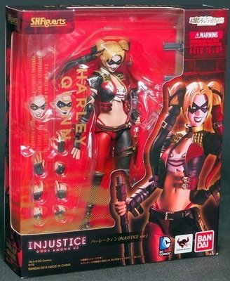 全新 SHF 魂商店限定 不義聯盟 Injustice 蝙蝠俠 小丑女 Harley Quinn