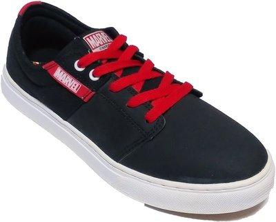【菲瑪】ARNOR 阿諾 時尚滑板鞋 MARVEL 聯名款 AVENGERS ASSEMBLE 黑ARMC43900