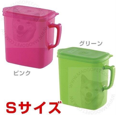利其爾 Richell 上掀食物保鮮桶 儲糧桶 防潮密封筒 飼料桶(把手)1.6L,每件240元
