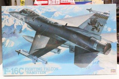 【統一模型玩具店】HASEGAWA《美空軍戰鬥機- F-16C RAMSTEIN》1:32 # S-27【缺貨】