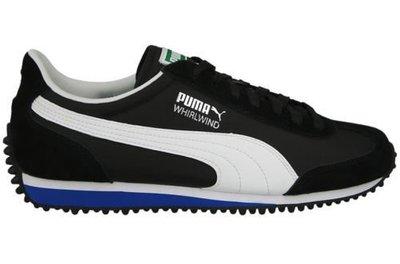 黑面白標籃底 ※台北快貨※全新Puma WHIRLWIND Classic經典潮鞋,非SuperStar ROMA OG