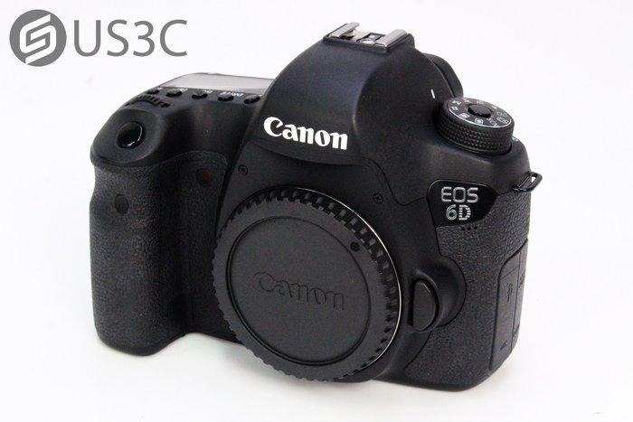 【US3C-小南門店】佳能 Canon 6D 單機身 高階單眼 全片幅相機 內建WiFi 2020萬畫素 快門16931次