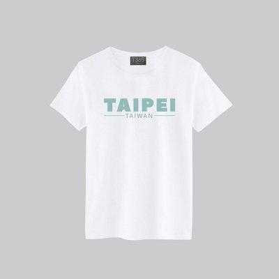 T365 TAIWAN TAIPEI 台灣 臺灣 愛台灣 國家 英文 設計 湖水綠 T恤 男女可穿 多色同款可選 短T