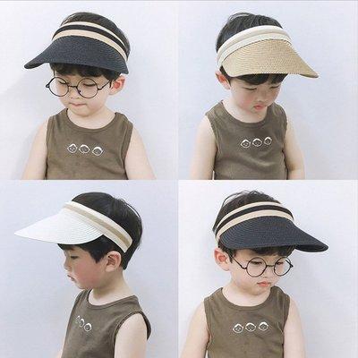 糖衣子輕鬆購【AS0077】韓版防紫外線遮陽帽可大帽延空頂帽出遊海灘帽涼帽