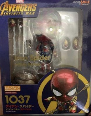 黏土人 鋼鐵蜘蛛俠 iron spiderman