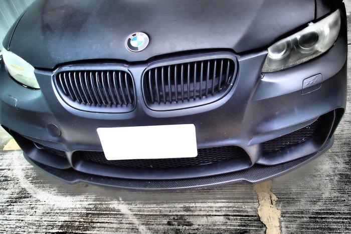 DJD19040435 BMW E90 E92 E93 M3  高品質 碳纖維 卡夢 前保桿下定風翼