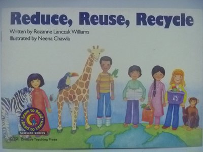 【月界二手書店】Reduce, Reuse, Recycle-Read to Learn 〖少年童書〗CEP