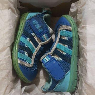 二手童鞋出清,*正品IFME藍色運動機能水涼鞋*14公分 桃園市