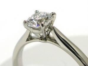 【Cartier 】 Cartier ~~~1895 ~~~鉑金鑽石戒 0.30ct ~~~附GIA證書 ~~戒圍51