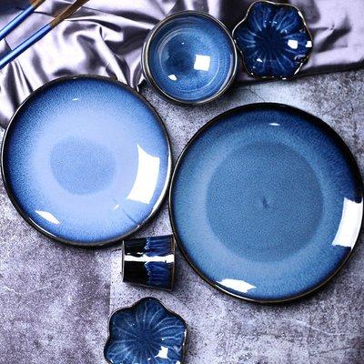 有一間店-日式陶瓷碗碟套裝創意碗盤碟套裝家用盤子酒店米飯碗碟子餐具(規格不同 價格不同)
