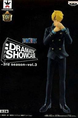 日本正版景品海賊王 航海王 DRAMATIC SHOWCASE 3rd season vol.3 香吉士 公仔 日本代購