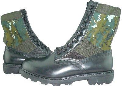 W軍品小舖 國軍數位迷彩戰鬥靴(附拉鍊盤) (還送鞋墊唷) 野戰鞋 軍威牌 生存遊戲 工作休閒