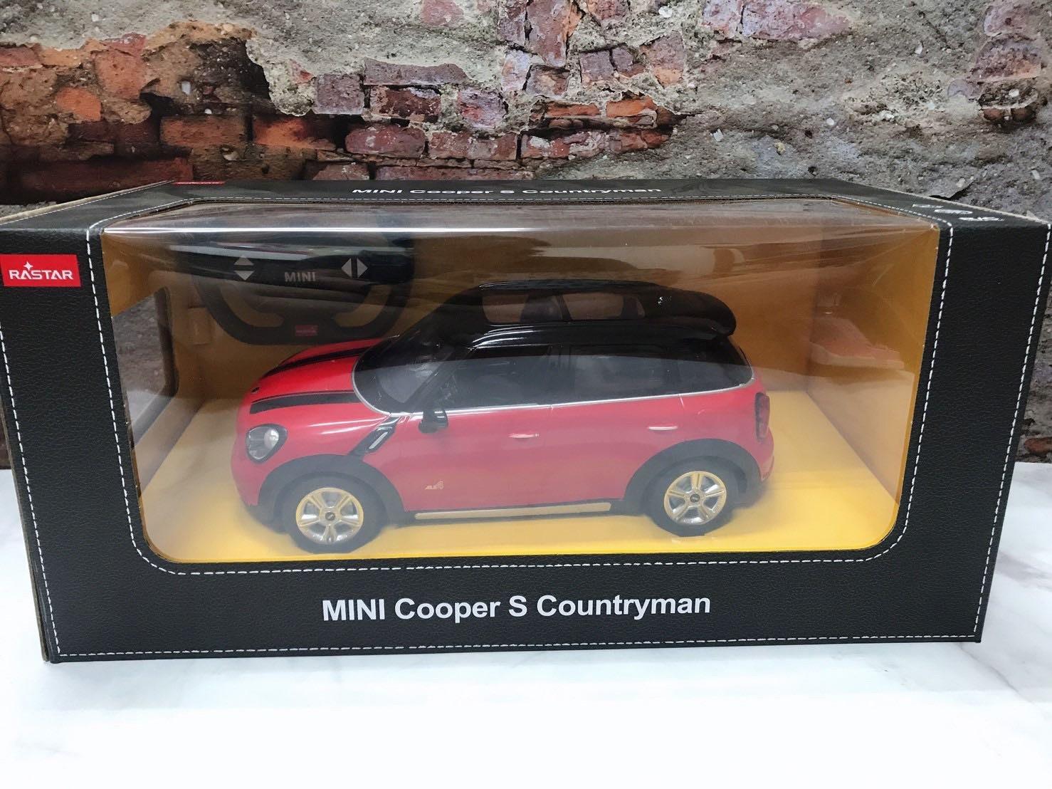 RASTAR 星輝 1:14 MINI Cooper S Countryman 紅色