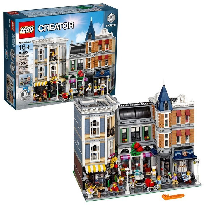 【美國正品樂高LEGO】樂高Lego 10255 Creator 城市街景 Assembly Square 聯合廣場