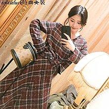 小幸運女裝大喜自制2019秋季新款小香風套裝女格紋時尚甜美氣質短裙兩件套