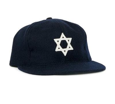 全新 現貨 Ebbets field flannels Hebrew 老帽 棒球帽 調節式 復古 騎士 街頭 經典