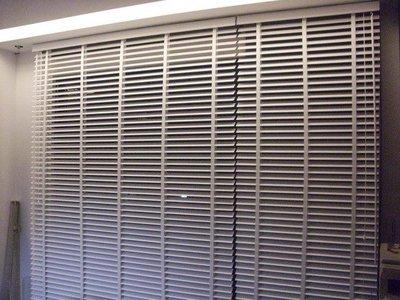 [上品窗簾] 50mm木百葉窗---120元/尺---含安裝