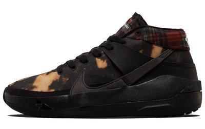 "GOSPEL【Nike KD 13 ""Bleached"" 】黑格紋 DA0894-005"
