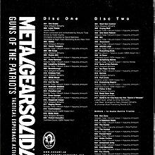 潛龍諜影Metal Gear Solid 4:Guns Of The Patriots - Original