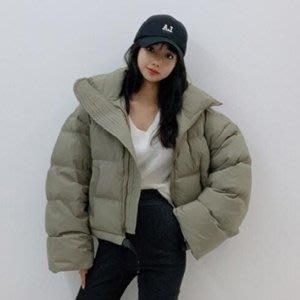 韓國精品==短版保暖羽絨大衣外套