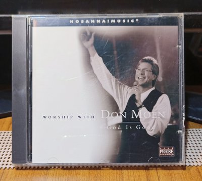【黑膠情報】Worship With DON MOEN唐・蒙恩 God Is Good(西洋福音CD)