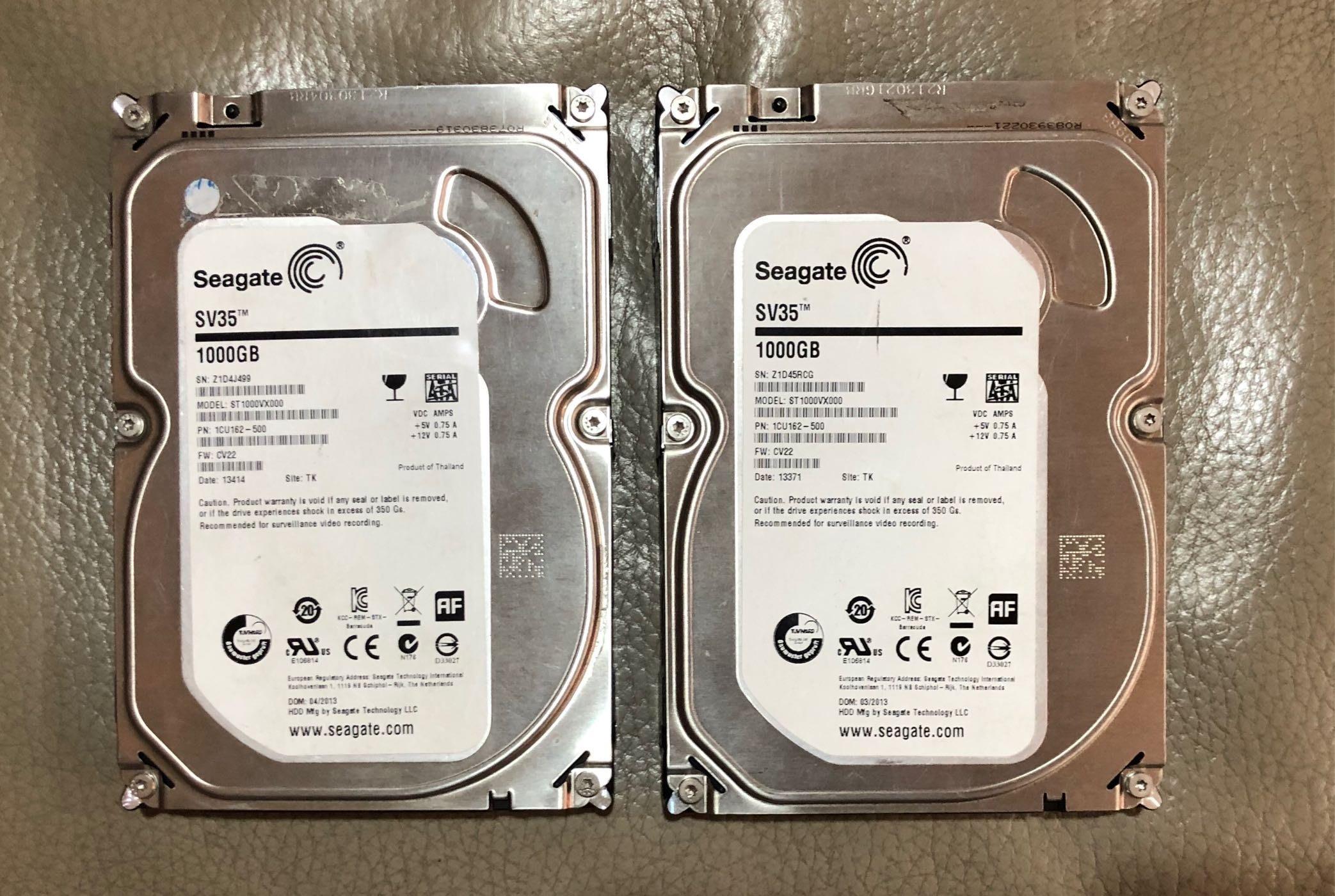 SEAGATE 1T 1TB 3.5吋 7200轉 硬碟 三重自取一顆300元 非2T/3T/4T/6T
