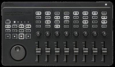 『放輕鬆樂器』全館免運費 KORG NANOKONTROL STUDIO 藍芽 MIDI 控制器