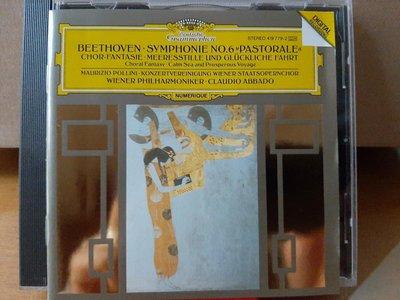 "Abbado,Pollini,Beethoven-Sym No.6""Pastorale"",阿巴多指揮維也納愛樂,演繹貝多芬-第6號""田園""交響曲"