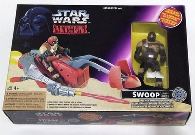 金錢貓雜貨~ 全新 Star Wars 星際大戰 Shadows of the Empire Swoop 白兵