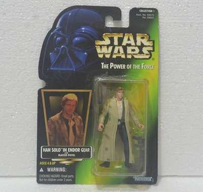 Kenner 3.75吋 Star Wars Han Solo