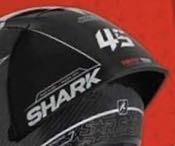 [阿群部品]SHARK RACE-R PRO GP WINTER TEST 安全帽配件 大尾翼 大鴨尾 尾翼 維修 SPOILER 法國原廠公司貨 限量