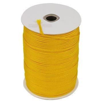 【TRENY直營】尼龍繩3mm黃色1尺(660尺/捲) PE繩  尼龍繩 安全 居家 繩子 2411