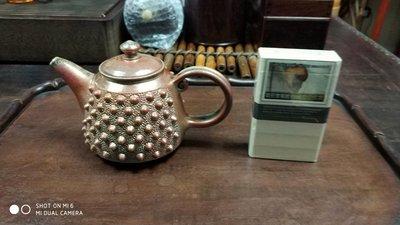 吳金維柴燒霰丸茶壺