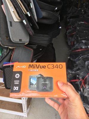 《桃園悍將》Mio C340 行車紀錄器【 送 16G+C02扣支或黏貼支架 免安裝費 免運費】