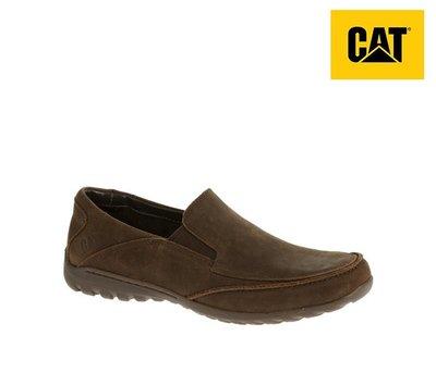 丹大戶外【Cat】美國卡特 ASHER 男鞋 頭層牛皮戶外休閒皮鞋 防滑耐磨 棕色 719180