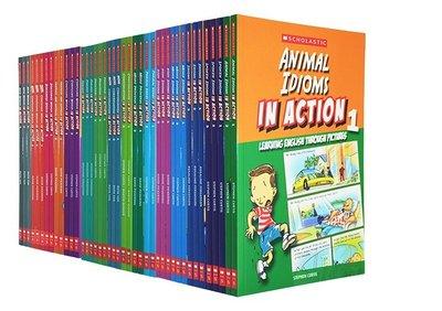 【預購】Scholastic In Action WordsIdiomsPhrases 45冊 圖解英語對話學習漫畫