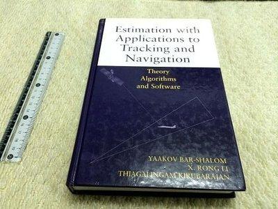 獵戶座/電腦【Estimation with Applications】ISBN047141655X 97b3 J2區