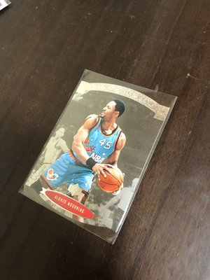 ALONZO MOURNING   1996 NBA ALL STARS AS11 切割明星賽卡 前後卡況如圖