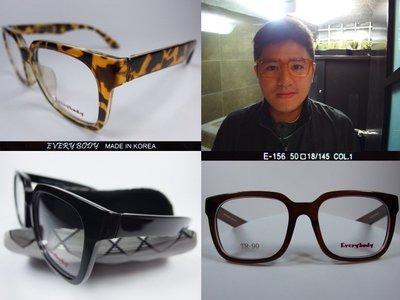 【信義計劃】Every Body 眼鏡 TR90膠框 方框 超輕超彈性 Silhouette 詩樂 Slights