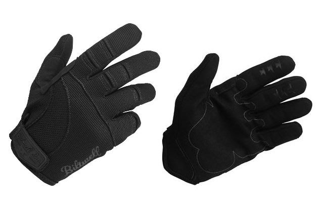 (I LOVE樂多)USA Biltwell MOTO GLOVES - BLACK bmx 騎士手套 黑色