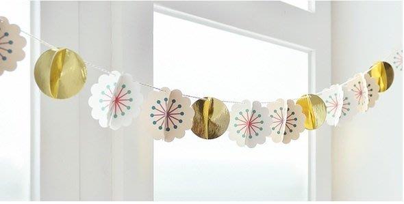 {{立體花朵}}派對佈置/兒童房佈置/紙吊飾